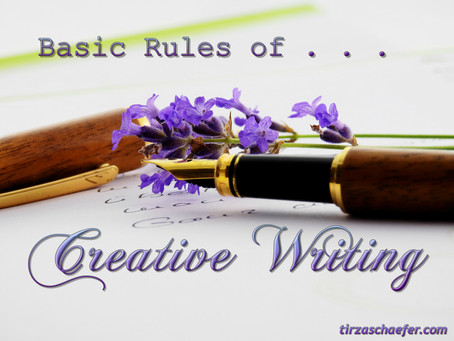 Thoughts Inspiration Education: Basic Rules of Creative Writing