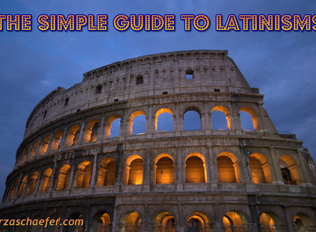Thoughts Inspiration Education: The Simple Guide to Latinisms