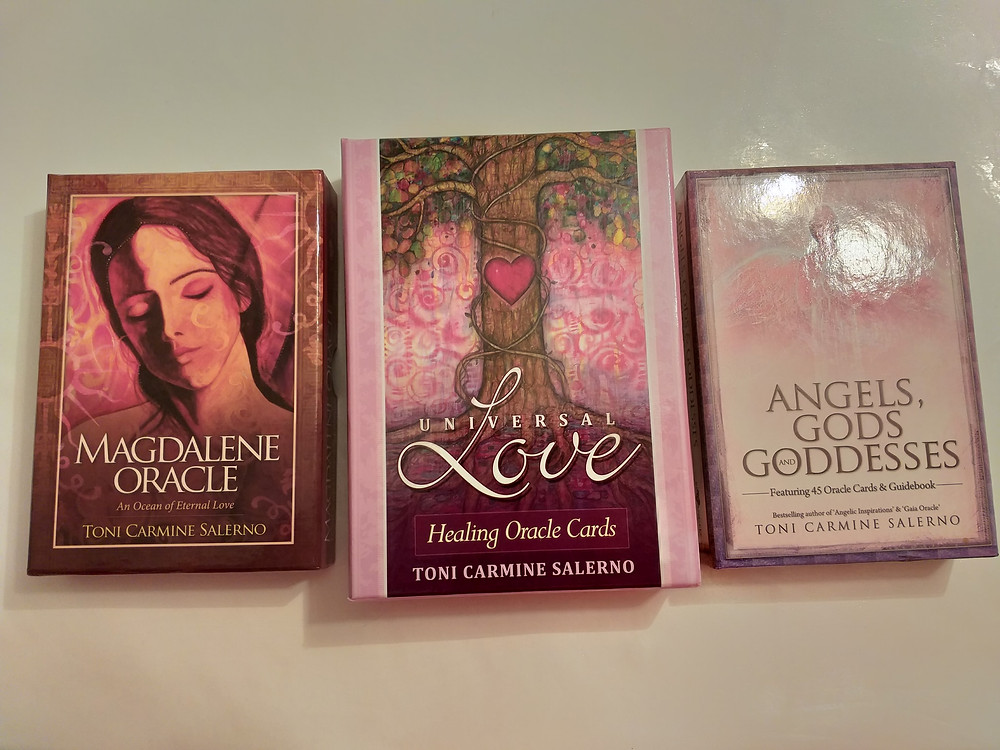 Magdalene, Universal Love & Angels, Gods and Goddesses Oracle Card Decks by Toni Carmine Solerno