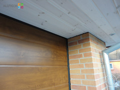 Alutech L-panel Golden Oak