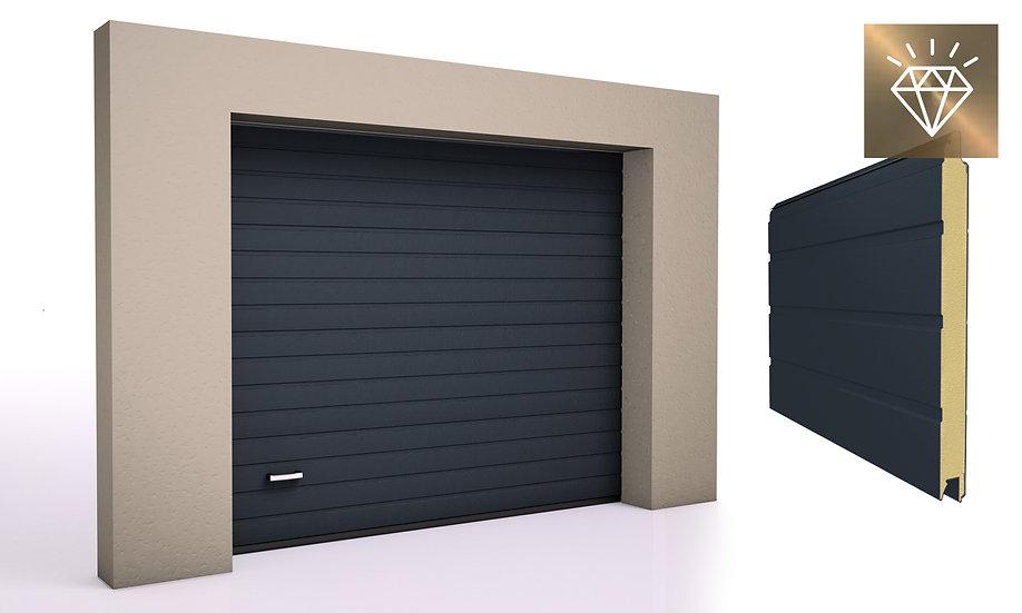 Alutech Garasjeport PRESTIGE S-Panel