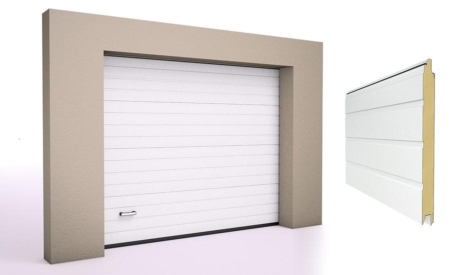 Alutech Garasjeport TREND S-panel