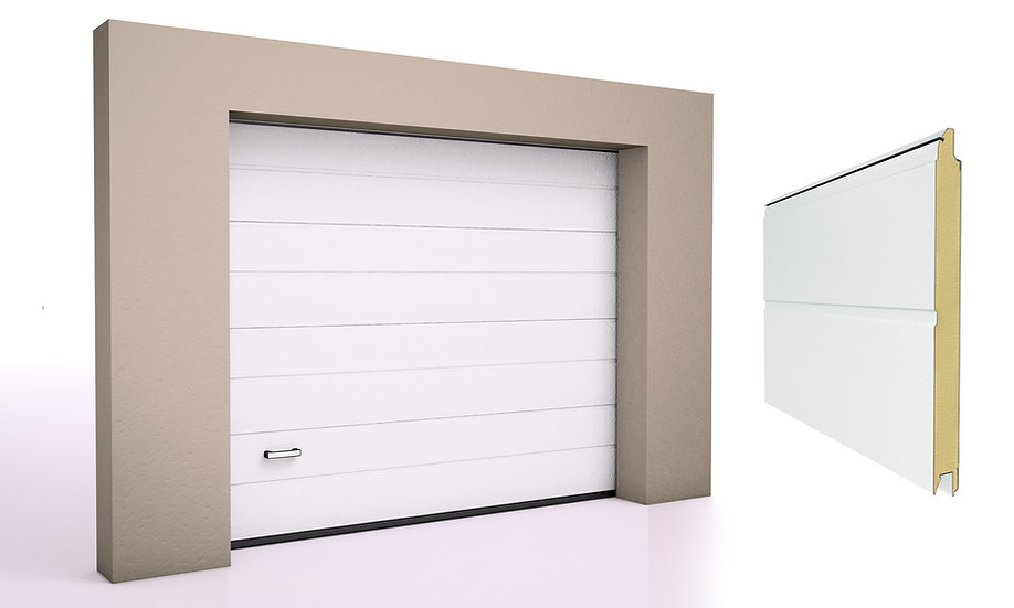 Alutech Garasjeport TREND M-panel