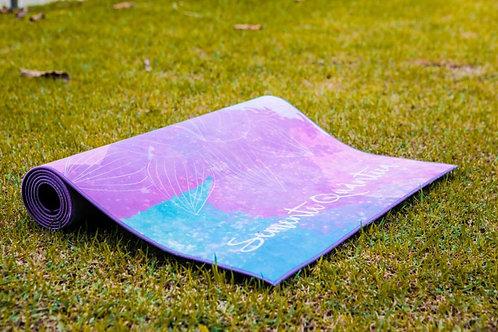 Tapete de Yoga Mat Aveludado - Semente Quântica
