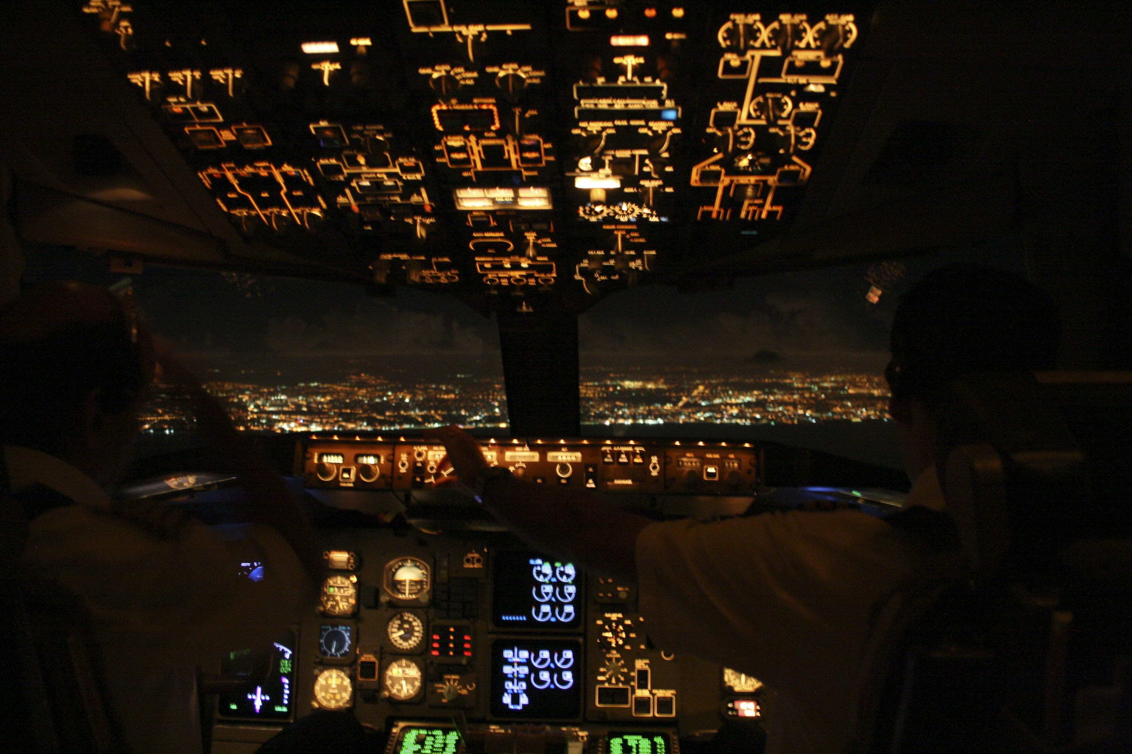 Landing in Tel Aviv, Israel