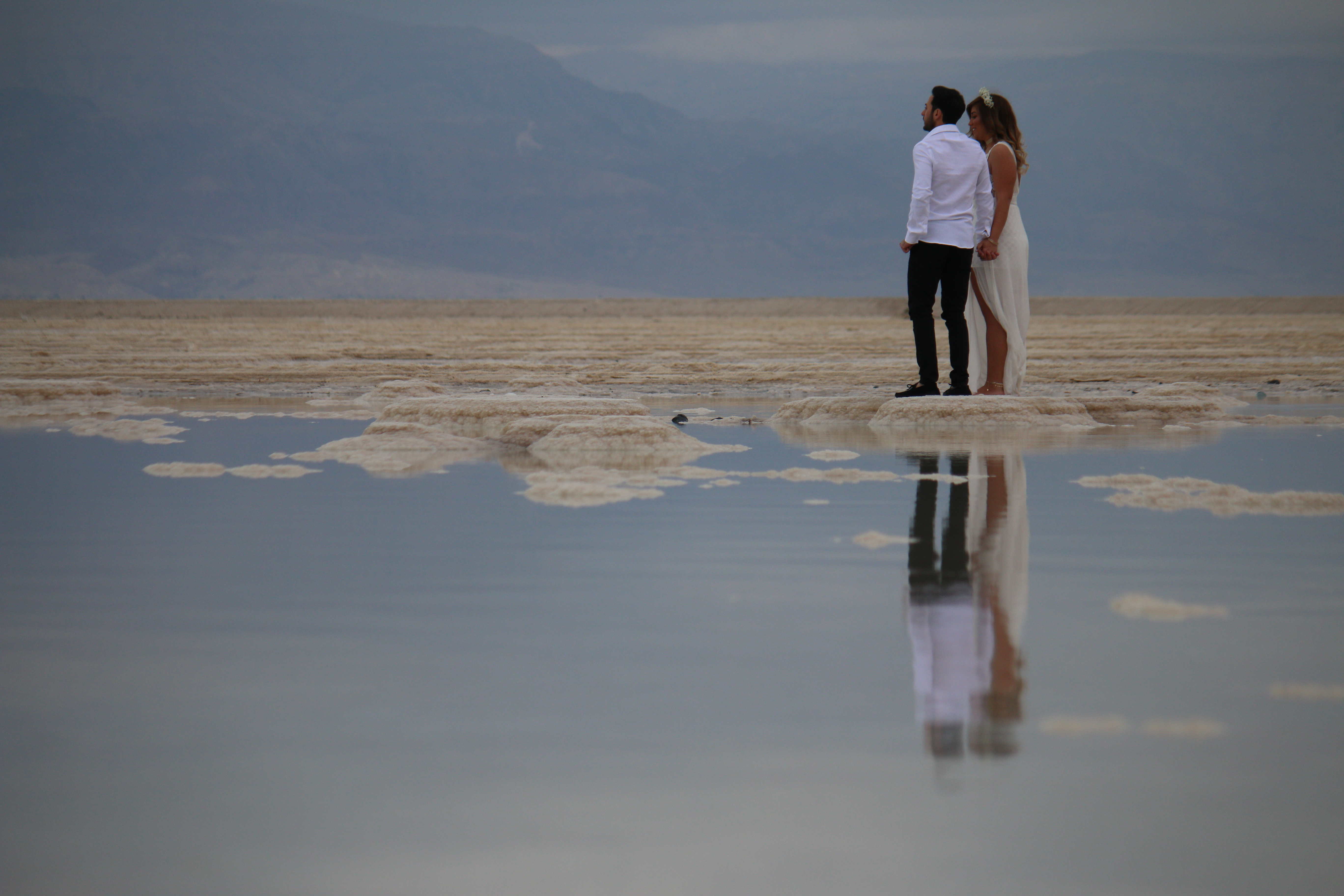Getting married - Dead sea