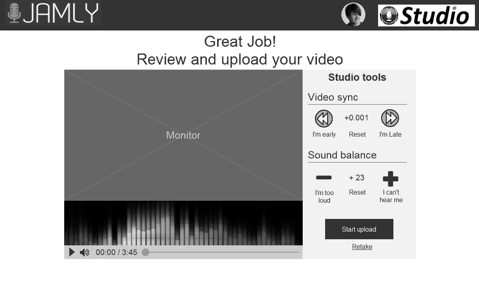 Review your recording