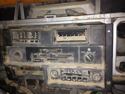 SJ410 Heater panel - before