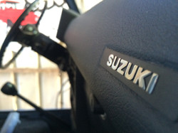SJ410 Suzuki Emblem interior