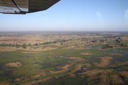 Okavango delta, scenic flight