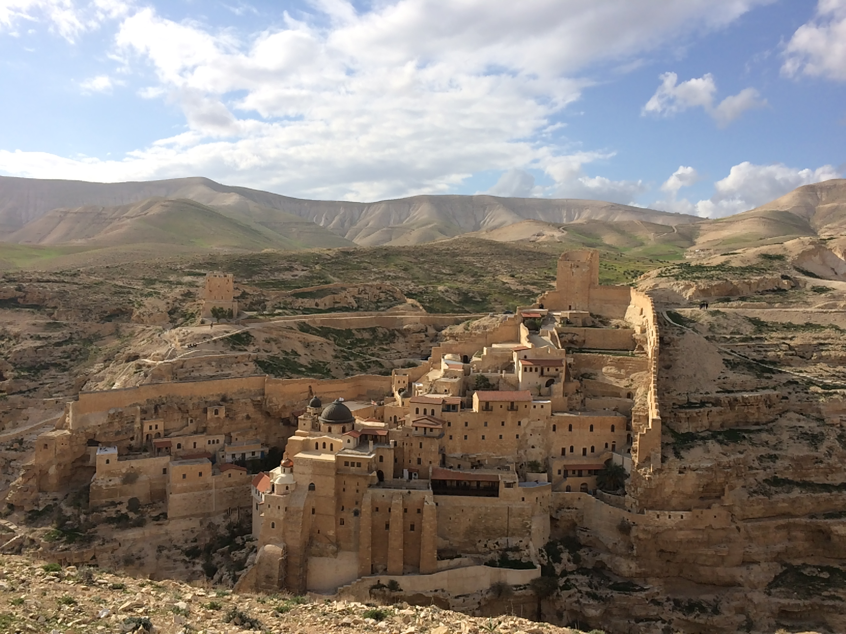Greek Orthodox monastery of Mar Saba, Judean desert