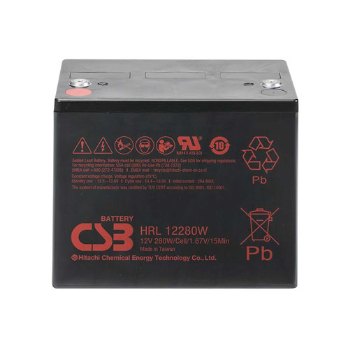 CSB HRL 12280WFR ups battery - Penn-Delmar Power