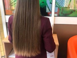 AEC Athlete Donates Hair to Prince's Trust