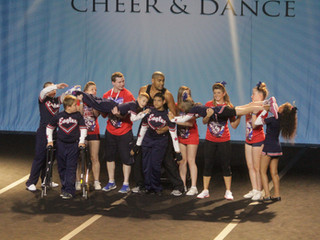SEN cheer is rewarding for athletes, families, coaches and helpers.