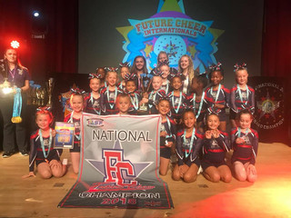 AEC Soar at Future Cheer Nationals