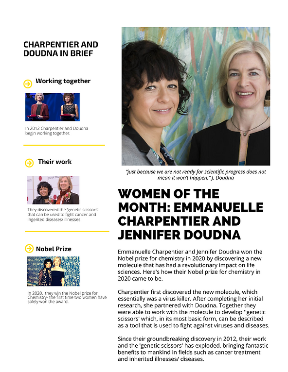 Woman of the Month_ Charpentier & Doudna