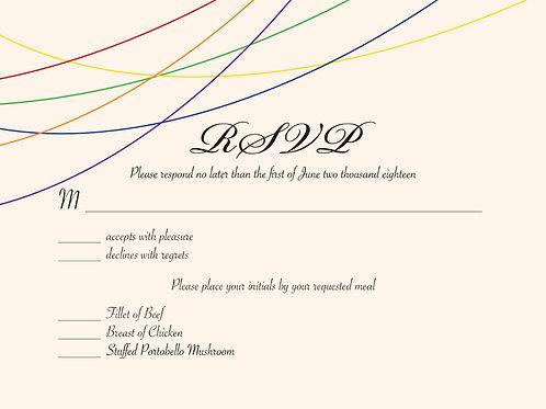 Maddison RSVP Card