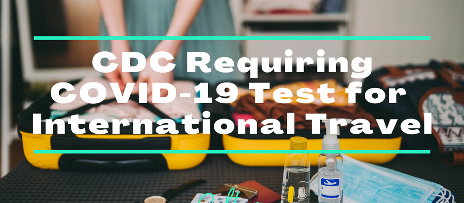 CDC Requiring Negative COVID Test for Entry