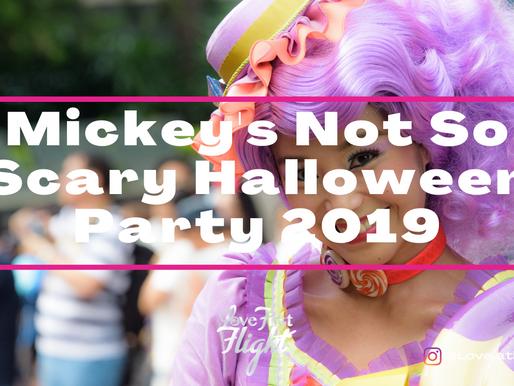 Mickey's Not So Scary Halloween Party 2019