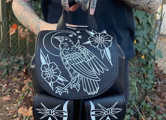 Raven Flap Backpack