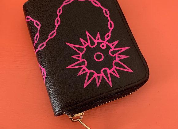 Flail Single-Zip Mini Wallet