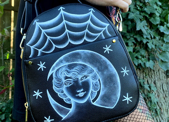 Moon Lady Convertible Backpack