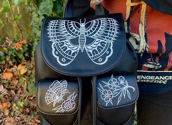 Butterfly Flap Backpack