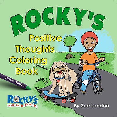 front cover of Positive Thoughts Colorin