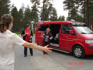 Ждём гостей из Финляндии