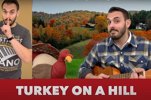 Turkey On A Hill