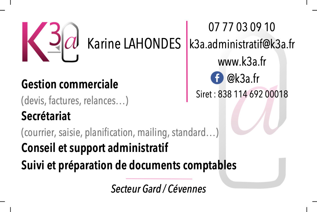 Carte de visite K3A