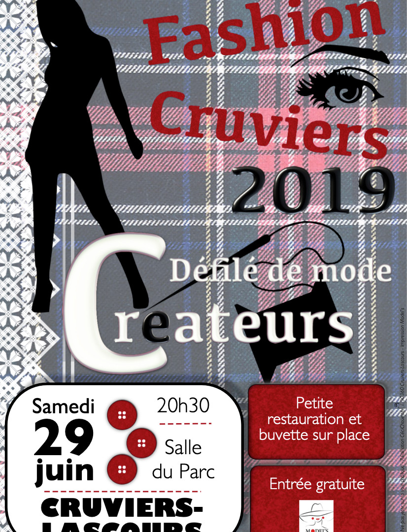 Affiche Fashion Cruviers 2019 MODEL'S