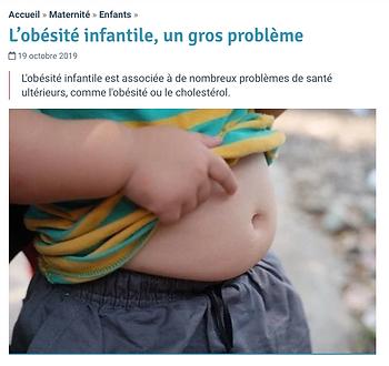 Image - Obésité infantile, un. gros prob