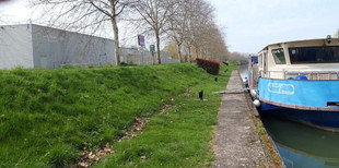 1er avril 2019, Départ. Début du canal du Nivernais