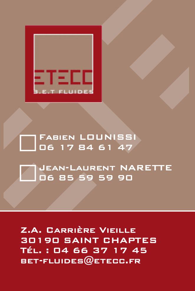 Cartes de visite ETECC