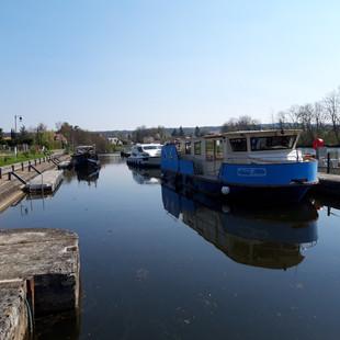 Avril 2019, Ecluse sur Yonne