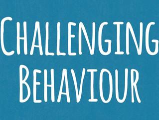 Upcoming Behaviour Training 27/03/18