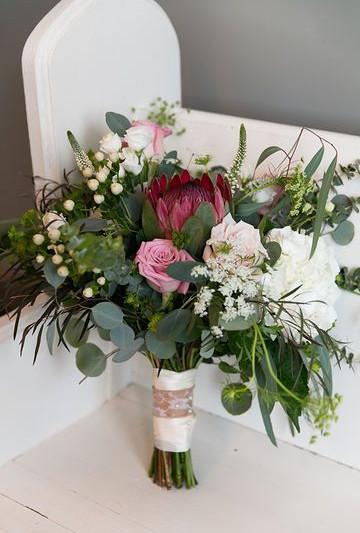 Bridal Bouquet Jerad & Shannon
