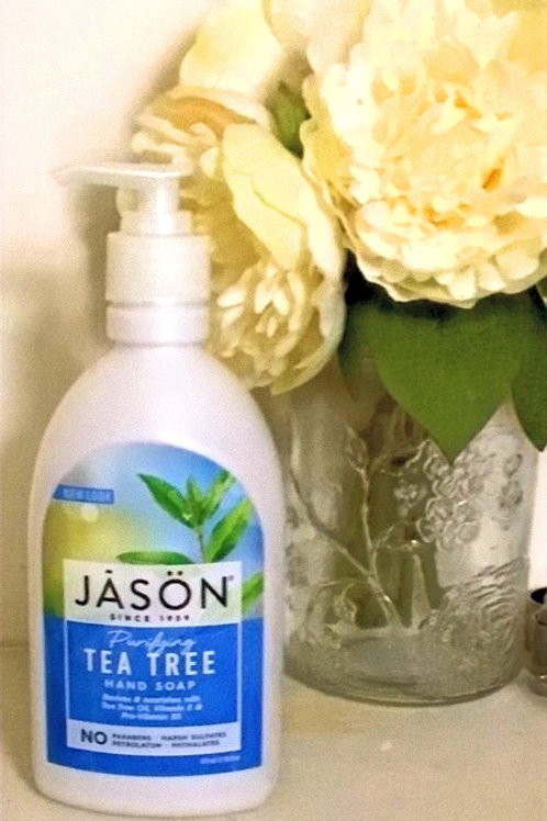 Purifying tea tree hand soap