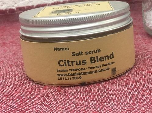 Aromatic Salt Scrub - Clear Breathing