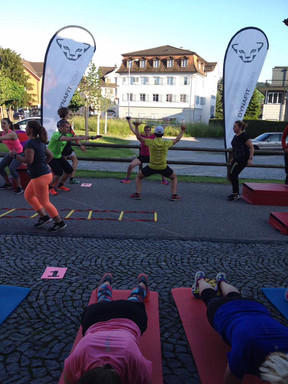 Functional Trainings: Mittwoch18:45 Uhr - Donnerstag 6:00 Uhr & Samstag 8:00 Uhr