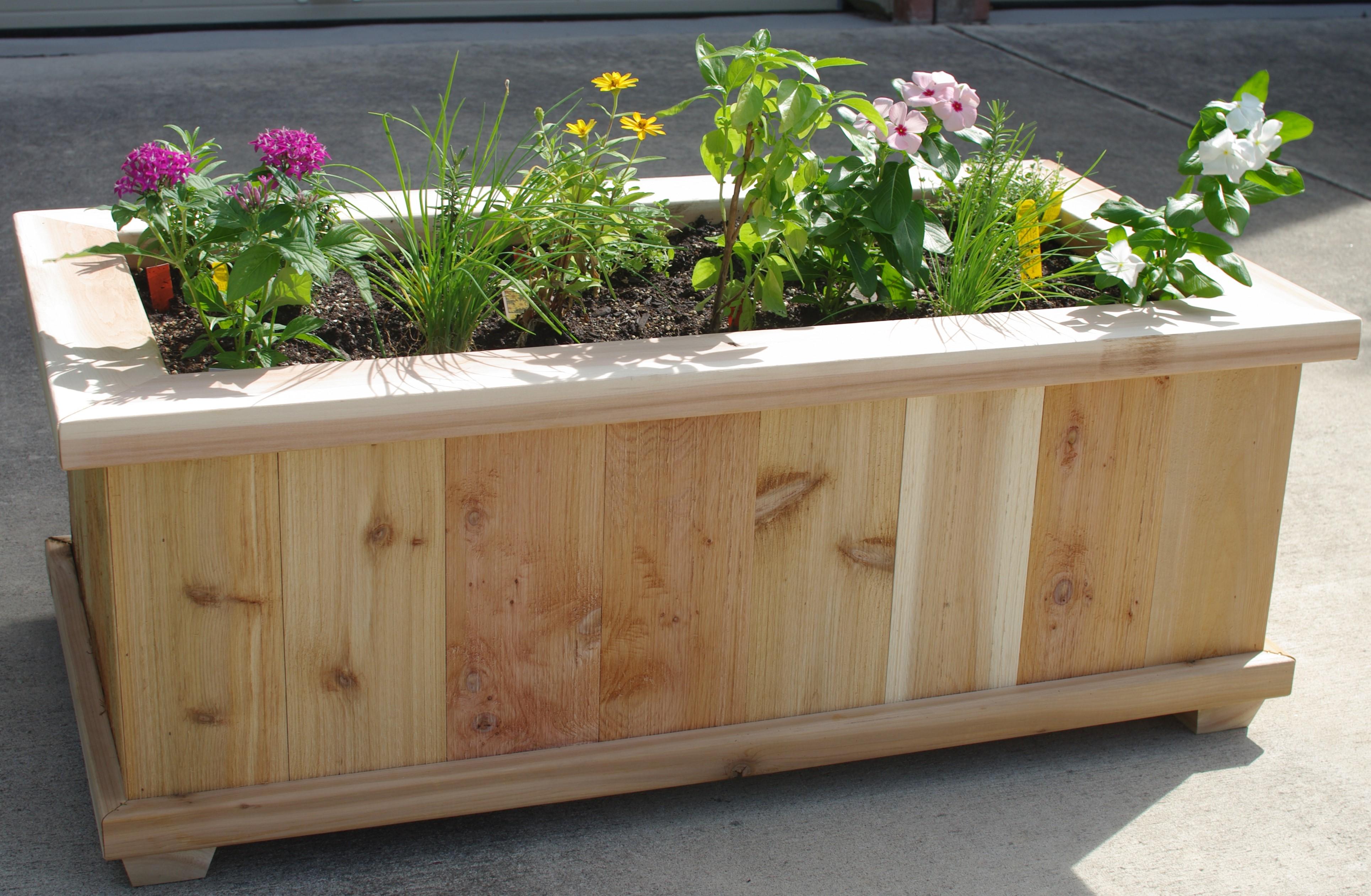 Cedar Herb Box