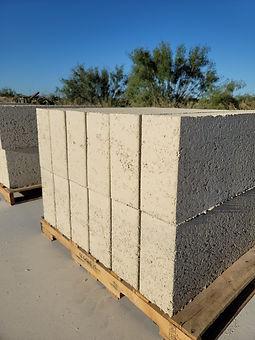 Aussieblock reconstituted limestone Half Block