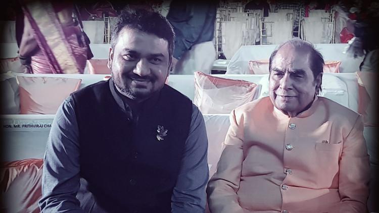with Dr D Y Patil