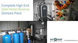 Steel Reverse Osmosis