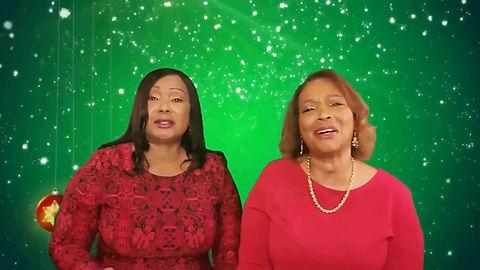 """Nedra Cooper & & Robin Tucker - """"Come All Ye Faithful"""""""