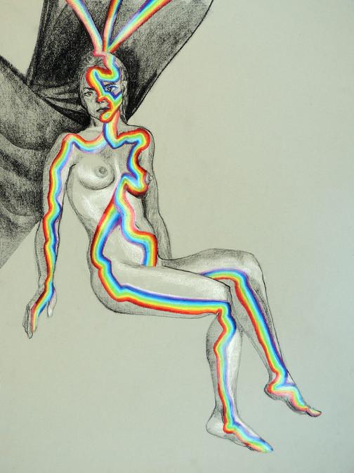 Tall Rainbow Nude