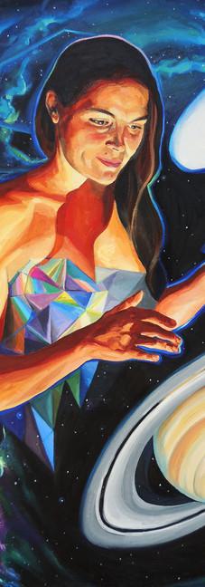 Quantum Healing Visions II (self portrait)