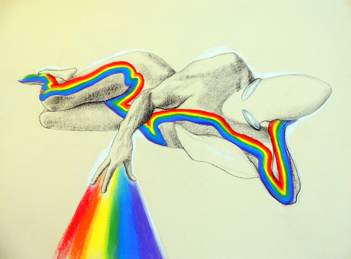Male Rainbow Energy
