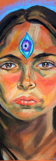 Awakened Mom (self portrait)